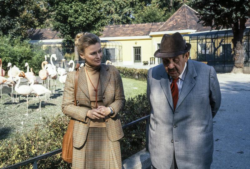 Ulli Fessl, Fritz Eckhardt. – Bild: ORF III