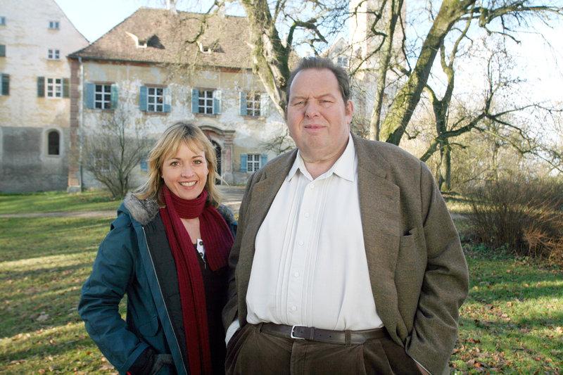 Katharina Abt (Nadine Richter), Ottfried Fischer (Benno Berghammer). – Bild: ORF