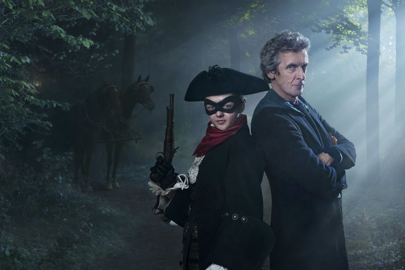 Picture Shows: Maisie Williams as the Highwayman and Peter Capaldi as the Doctor – Bild: Copyright BBC/BBC Worldwide 2015