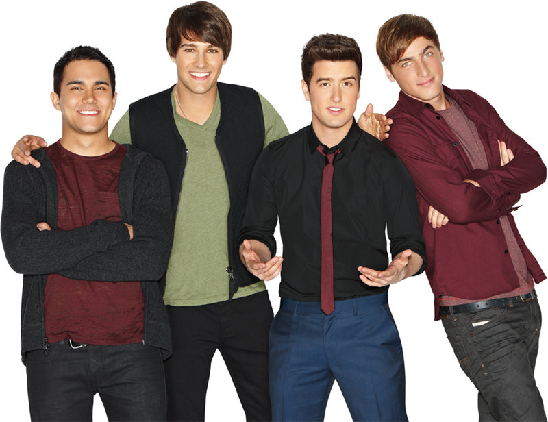 Kendall (Kendall Schmidt), Logan (Logan Henderson), James (James Maslow), Carlos (Carlos Pena). – Bild: 2012 VIACOM, INTERNATIONAL INC. ALL RIGHTS RESERVED.