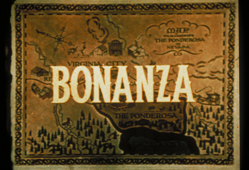 Die Abenteuer der Cartwrights, ihre Interessen an Farmwirtschaft und Bergbau bilden den Hintergrund für die Geschichten von 'Bonanza'. – Bild: Sat.1 Gold