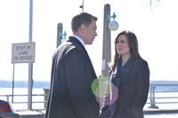 Donald Ressler (Diego Klattenhoff) und Elizabeth Keen (Megan Boone) – © RTL Crime