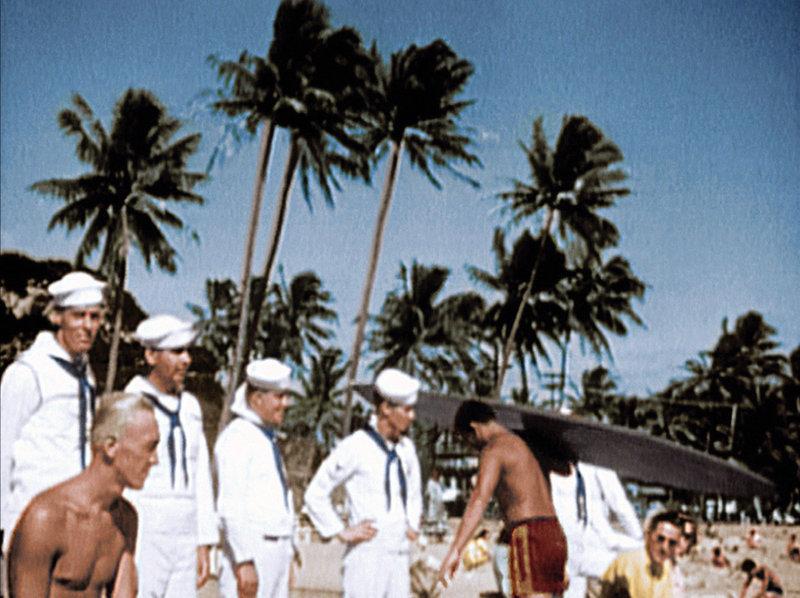 Sommer 1941, US Navy vor dem Angriff in Pearl Harbor. – Bild: ARD-alpha