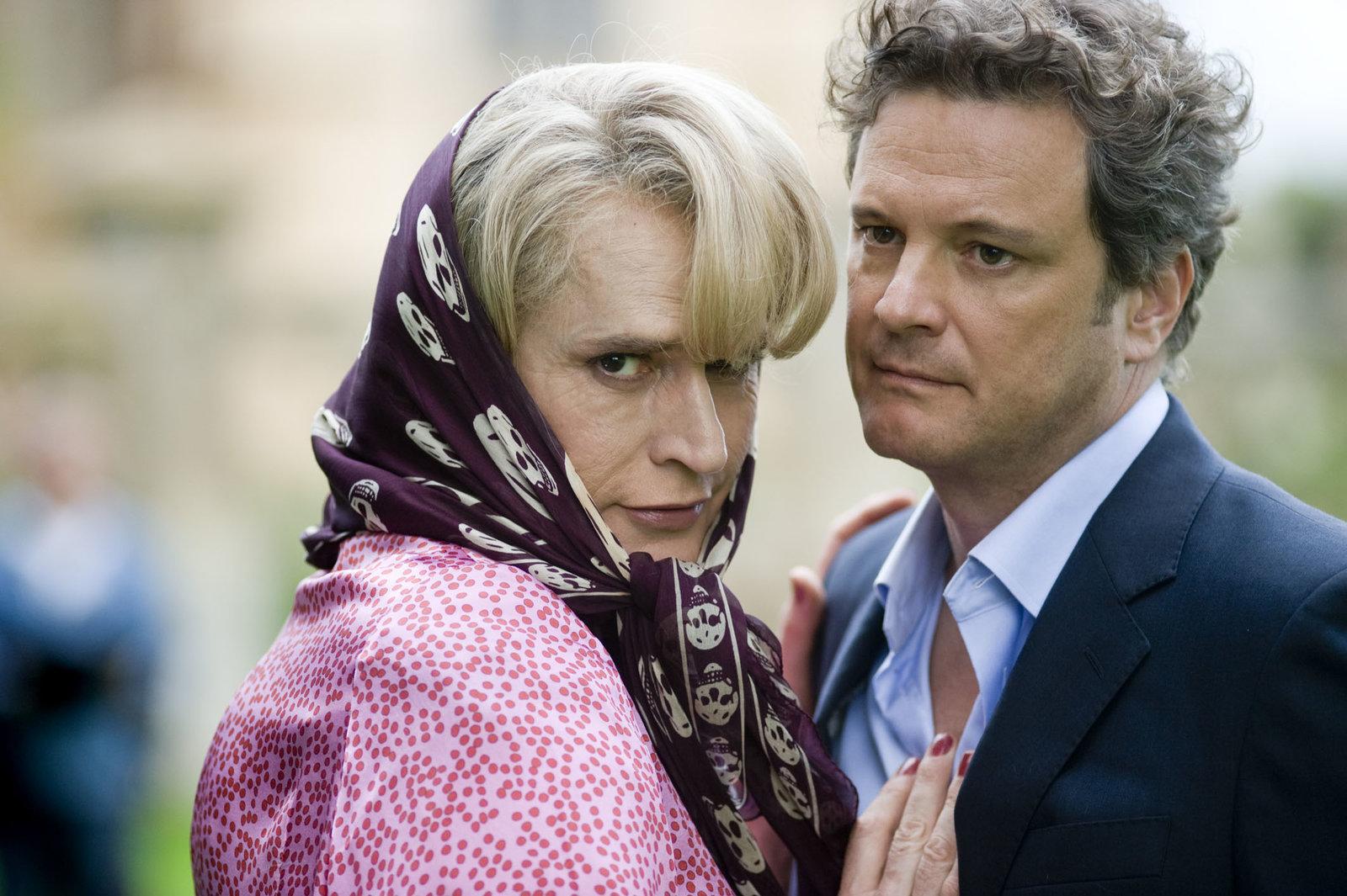 Camilla Fritton (Rupert Everett, li.) und Geoffrey Thwaites (Colin Firth) – Bild: RTL II