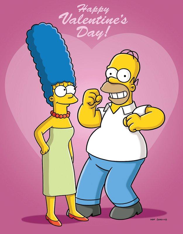 Homer und Marge haben ein schönes Rendezvous geplant, was aber leider platzt, weil Homer länger arbeiten muss. – Bild: ORF eins