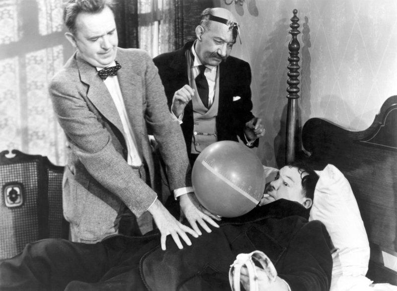 Stan Laurel, James Finlayson, Oliver Hardy. – Bild: ORF