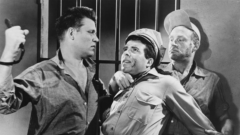 l-r: Dunn (Neville Brand), Monroe (Paul Frees) – Bild: Star TV