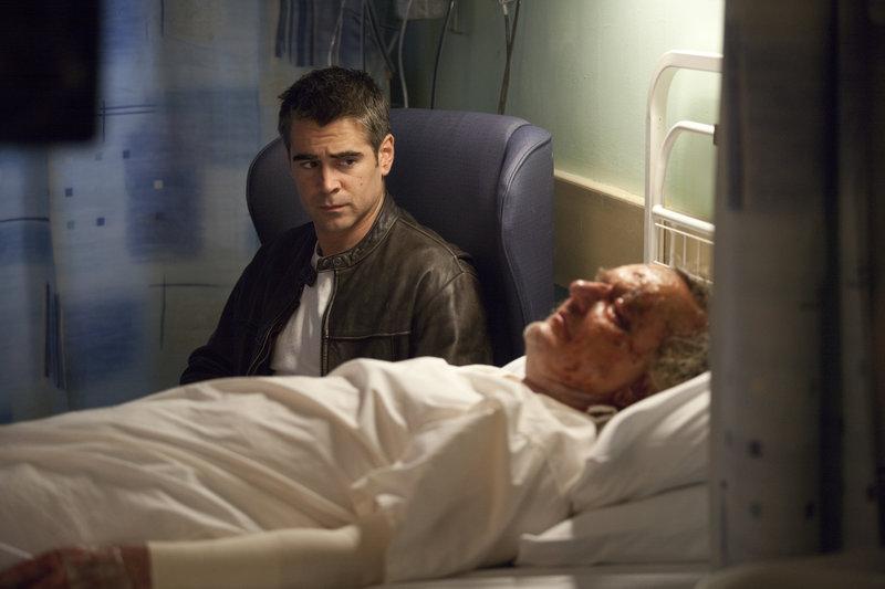 Der Tod seines Freundes Joe (Alan Williams, v.) zieht Mitchel (Colin Farrell, h.) zurück in die eigene kriminelle Vergangenheit: Er will die Täter unbedingt finden. – Bild: ZDF und Laurie Sparham