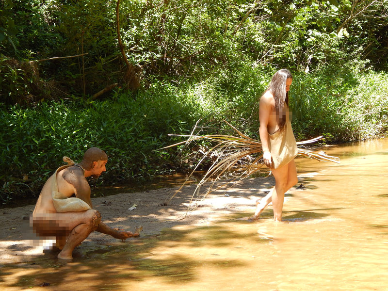 Edmonds man is pixelated in naked and afraid
