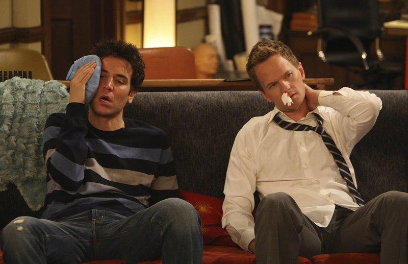 Wann machen Barney und Robin das erste Haken