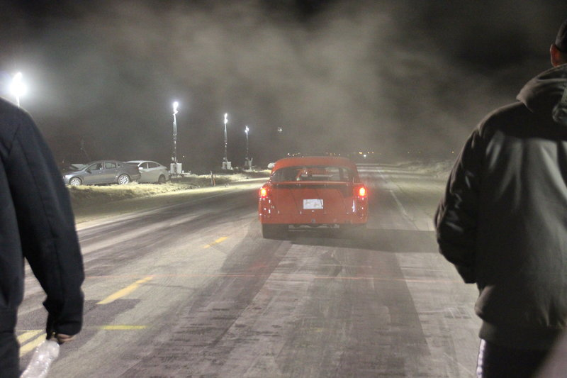 The road is being tested on race night in LA. – Bild: Discovery Channel / Discovery Communications