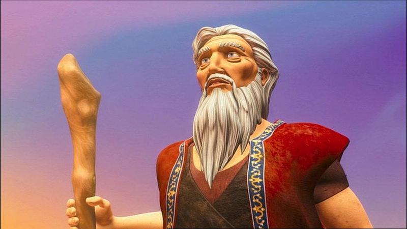 Die Zehn Gebote - Moses und das Geheimnis der steinernen Tafeln – Bild: Bibel TV