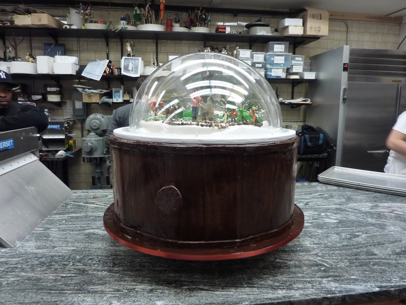 Snowglobe cake – Bild: Copyright: Discovery Communications, Inc. For Show Promotion Only. Discovery Networks Picture Publicity. This picture may be used solely for Discovery Networks programme publicity purposes. May be rep