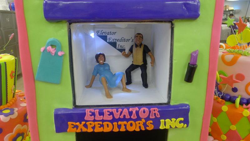 Elevator cake. – Bild: TLC