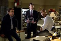 "CRIMINAL MINDS - ""Demons"" - In the second part of the season finale, the team continues to work to find the unsub who is killing prostitutes, and one agent will put her life in danger as they close in on the killer and the motive. Meanwhile, an agent confronts a secret from the past, on ""Criminal Minds"" airing on CBS on WEDNESDAY, MAY 14 (10:00-11:00 p.m., ET). (ABC STUDIOS/Sonja Flemming)JOE MANTEGNA, THOMAS GIBSON, SHEMAR MOORE CRIMINALMINDS_Y9_D924_F210_0096 – © 2014 American Broadcasting Companies, Inc. All rights reserved."
