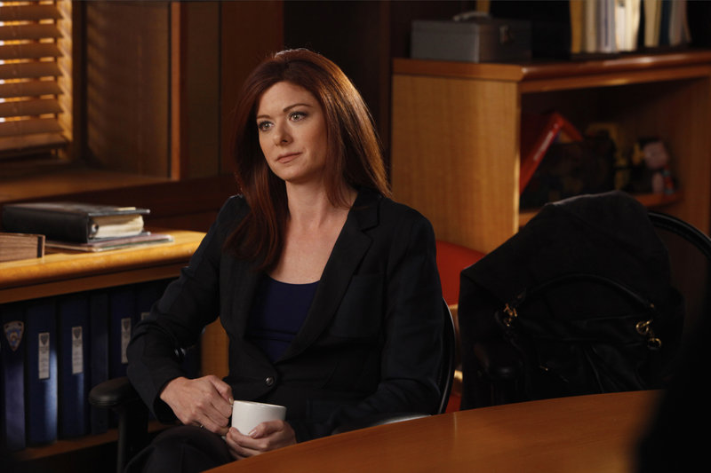"-- ""Pursuit"" Episode 1217 -- Pictured: Debra Messing as Alicia Harding -- Photo by: Will Hart/NBC – Bild: Universal Channel"