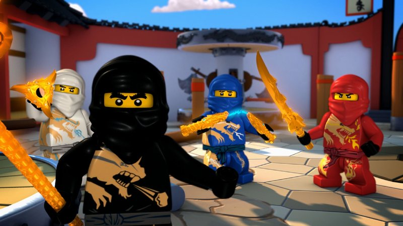 ninjago s03e04 die legende des goldenen meisters the. Black Bedroom Furniture Sets. Home Design Ideas