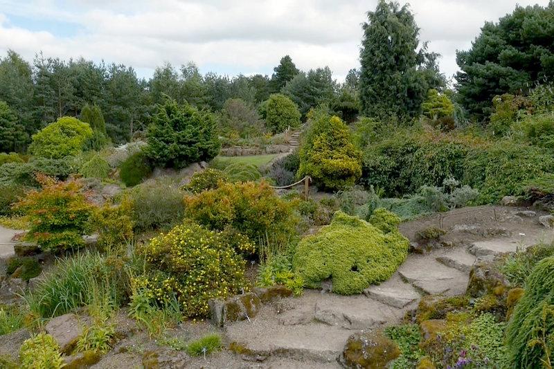 magische g rten s01e13 der botanische garten von edinburgh. Black Bedroom Furniture Sets. Home Design Ideas