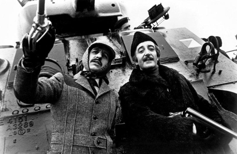 Ringo Starr, Peter Sellers. – Bild: ORF