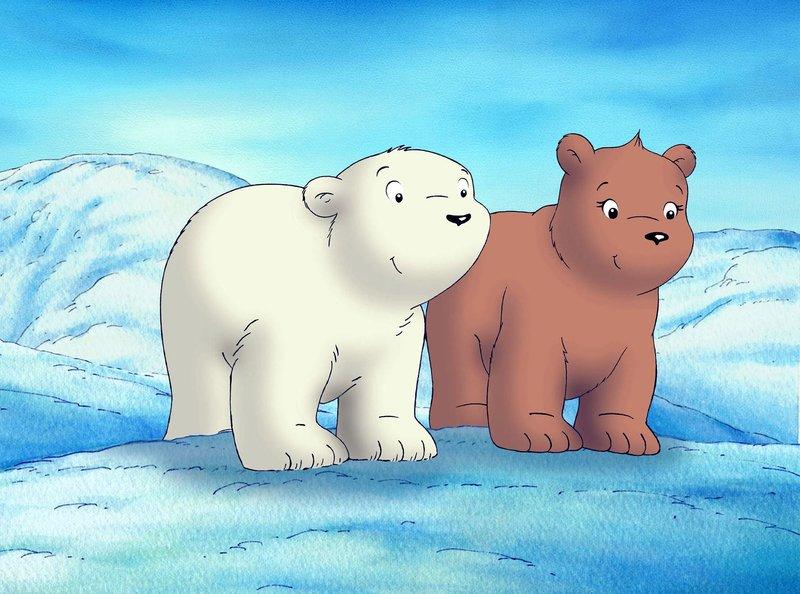 Lars (links) und Lea wollen Honigmedizin aus dem Wald holen. – Bild: WDR/Cartoon-Film