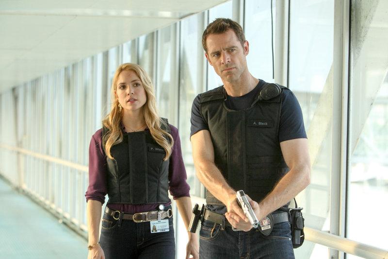 Brooke Nevin (Clara Malone), David Sutcliffe (Aidan Black). – Bild: ORF