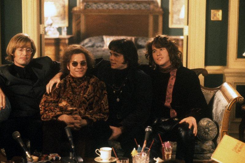 The Doors - film prod. USA 1991 r. - rez. Oliver Stone - Kyle MacLachlan, Kevin Dillon, Frank Whaley, Val Kilmer – Bild: Credit: TVP S.A.,