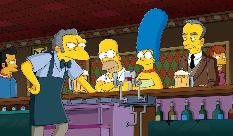"""""""Die Simpsons"""", """"Richte deinen Nächsten."""" Moe wird zufällig einer von Springfields meist begehrten Juroren, denn er kommt irrsinnig gut bei den Zuschauern an. Bald darauf wird Simon Cowell von American Idol auf ihn aufmerksam und Mo wird kurzerhand als Juror engagiert. Doch die Dinge laufen nicht so wie geplant. Homer langweilt sich einstweilen ohne Moe und beschließt mehr Zeit mit Marge zu verbringen. SENDUNG: ORF eins - DO - 28.12.2017 - 18:25 UHR. - Veroeffentlichung fuer Pressezwecke honorarfrei ausschliesslich im Zusammenhang mit oben genannter Sendung oder Veranstaltung des ORF bei Urhebernennung. Foto: ©Twentieth Century Fox Film Corporation. All rights reserved.. Anderweitige Verwendung honorarpflichtig und nur nach schriftlicher Genehmigung der ORF-Fotoredaktion. Copyright: ORF, Wuerzburggasse 30, A-1136 Wien, Tel. +43-(0)1-87878-13606 – Bild: ORF eins"""