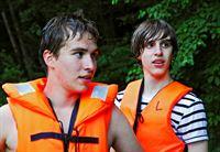 Daniel (li.) und Tom (re.) beim Outdoor-Tag der Helden in der Pfalz – © SWR / © SWR/Gigaherz