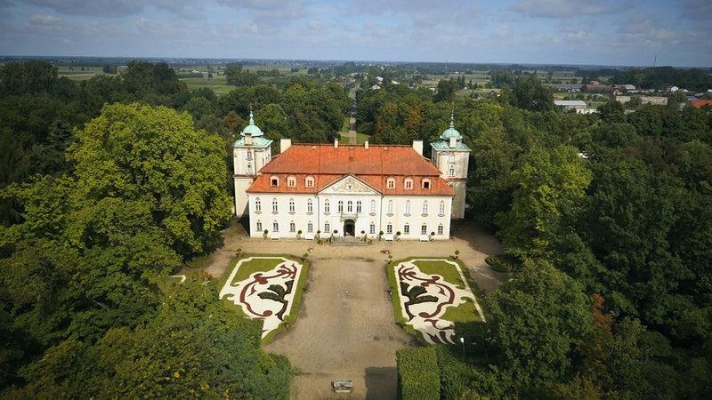 Schloss und Park Nieborów - 80 Kilometer südwestlich von Warschau – Bild: arte