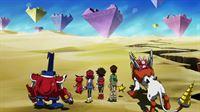 Wundersame Welten warten auf die drei Freunde und ihre treuen Begleiter ... – © Akiyoshi Hongo, Toei Animation. TM Saban Properties LLC. All Rights Reserved. Lizenzbild frei