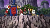 Dieses Team stellt sich jeder Herausforderung ... – © Akiyoshi Hongo, Toei Animation. TM Saban Properties LLC. All Rights Reserved. Lizenzbild frei