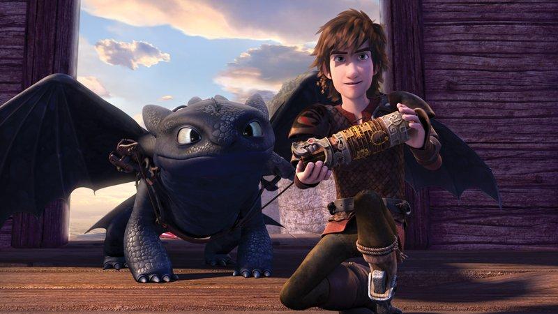 Hicks und Ohnezahn machen sich auf die Suche nach neuen unbekannten Welten. – Bild: DreamWorks Animation