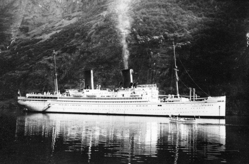 Flüchtlingsschiffe 1945 Ostsee