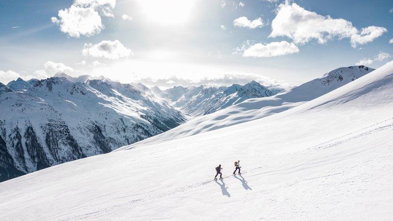 winter mountain hiking – Bild: CC0