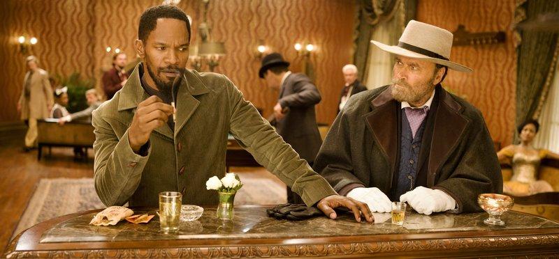 "Jamie Foxx, left, and Franco Nero star in Columbia Pictures' ""Django Unchained,"" also starring Christoph Waltz. – Bild: Nova Broadcasting Group"