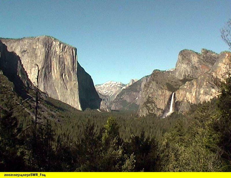Das Yosemite Valley. – Bild: BR/SWR