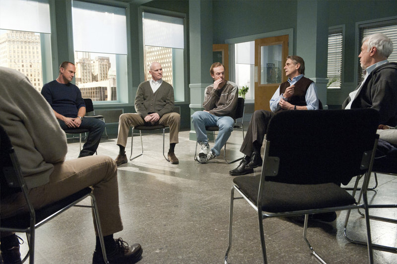 "-- ""Mask"" Episode 1215 -- Pictured: (left, center right) Christopher Meloni as Det – Bild: Universal Channel"