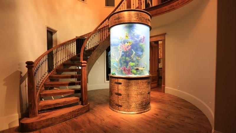 Jason's surprise tank is a bright 400 gallon walkaround cylinder! – Bild: DMAX