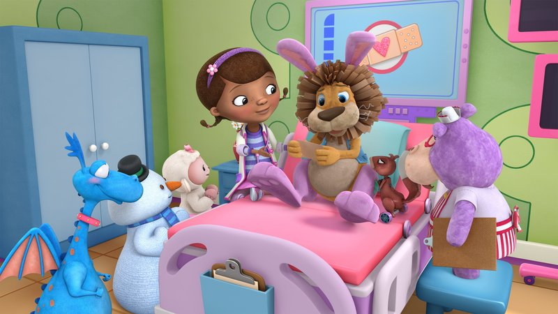 Stuffy, Chilly, Lamby, Doc, Stanley, Hallie – Bild: Disney Junior / 2016 Disney Enterprises, Inc. All rights reserved.
