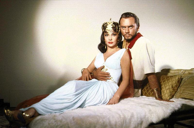 Die Königin von Saba (Gina Lollobrigida) und Salomon (Yul Brunner) – Bild: ARTE France