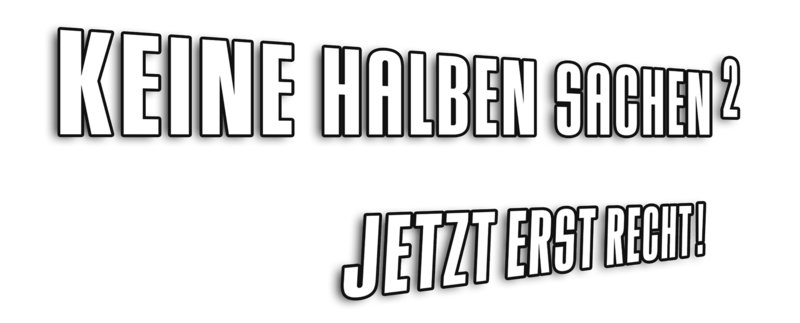 KEINE HALBEN SACHEN 2 - Logo – Bild: 2004 Warner Bros. Ent. All Rights Reserved. Lizenzbild frei