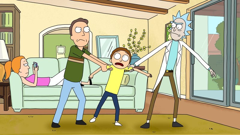 rick and morty summer nackt