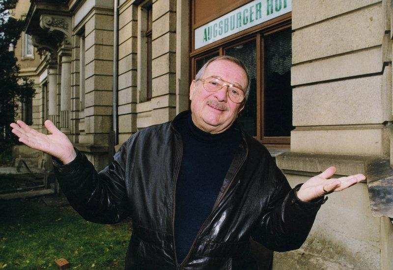 Der Komödiant Hans-Joachim Preil. – Bild: MDR/Gerhard Hopf