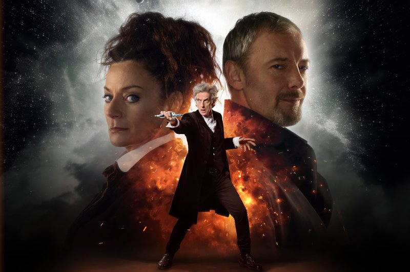 WARNING: Embargoed for publication until 00:00:01 on 18/06/2017 - Programme Name: Doctor Who S10 - TX: 24/06/2017 - Episode: n/a (No. 11) - Picture Shows: ***EMBARGOED UNTIL 18th JUNE 2017*** Missy (MICHELLE GOMEZ), The Master (JOHN SIMM), The Doctor (PETER CAPALDI) - (C) BBC/BBC Worldwide - Photographer: Simon Ridgway/Ray Burmiston – Bild: Simon Ridgway