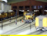 """SWR Fernsehen EISENBAHN-ROMANTIK FOLGE 451, """"Bahnmythos Cheyenne - Maßstab 1:87"""", am Mittwoch (05.11.14) um 14:15 Uhr. Das Bahnbetriebswerk Cheyenne, nachgebaut von John Gray, im Maßstab 1:87. – © SWR"""