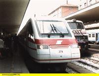 """SWR Fernsehen EISENBAHN-ROMANTIK FOLGE 395, """"Pendolino - Der Neigetechnik-Renner in Italien"""", am Donnerstag (12.02.15) um 14:15 Uhr. Pendolino - der Neigetechnik-Renner in Italien. – © SWR"""