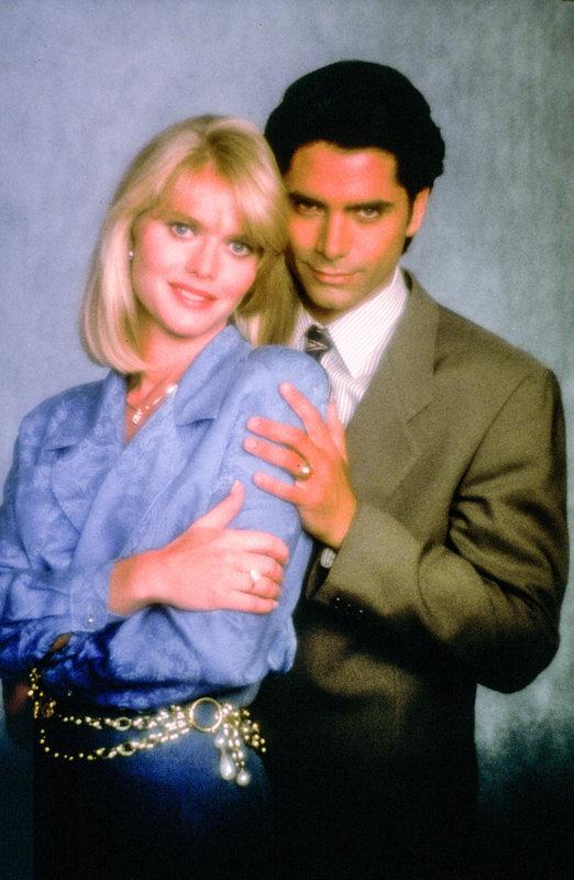 Claire Yarlett (Christina Seldon), John Stamos (Joe Seldon). – Bild: ORF