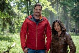 Gunnar Mergner und Caroline du Bled. – Bild: Bilderfest/BR