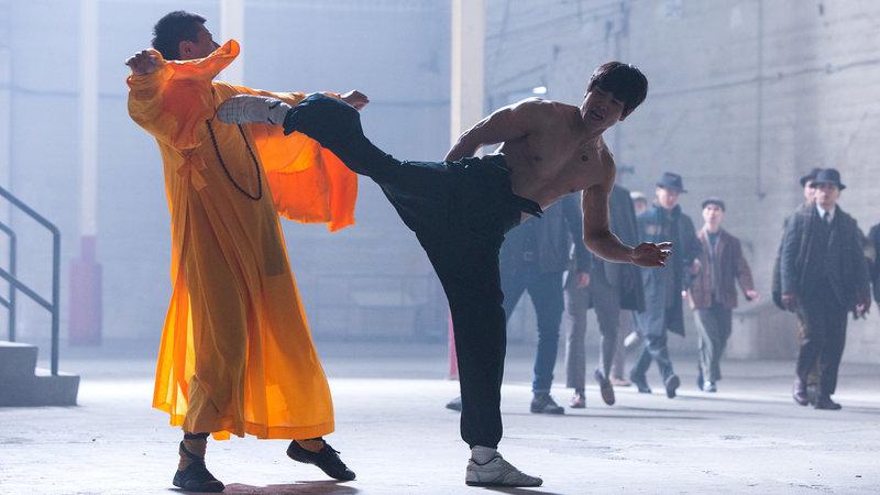 L-R: Wong Jack Man (Yu Xia) und Bruce Lee (Philip Ng) – Bild: 2017 BOTD Film