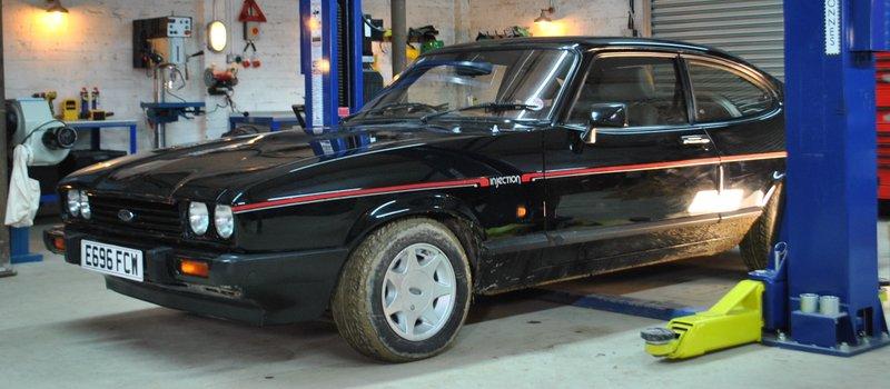 goblin works garage – das tuner-trio s01e04: ford capri (capri